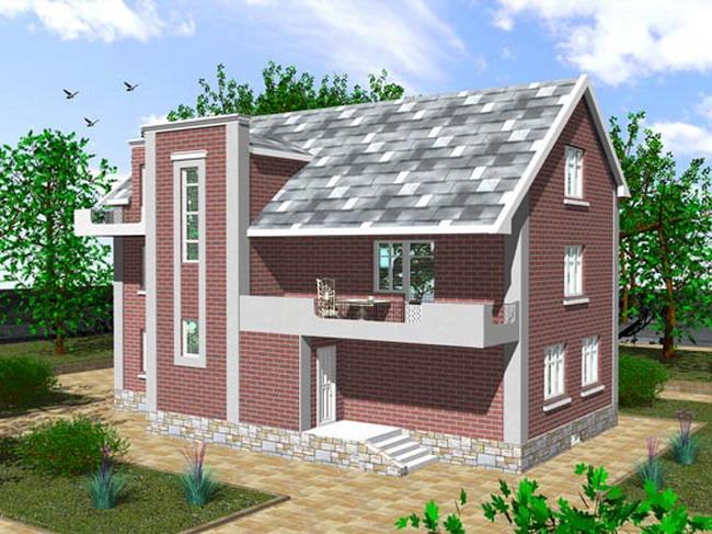 Фотографии проектов загородных домов