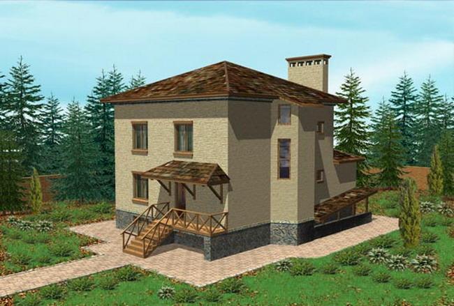 дипломный проект коттедж Фото галерея проектов загородных домов