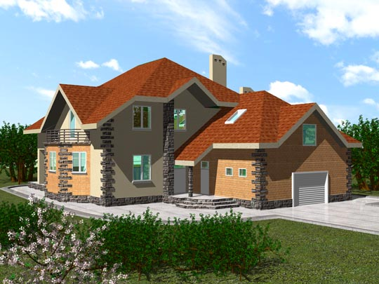 Двухэтажные дома из бруса фото: проекты 2-этажных домов из